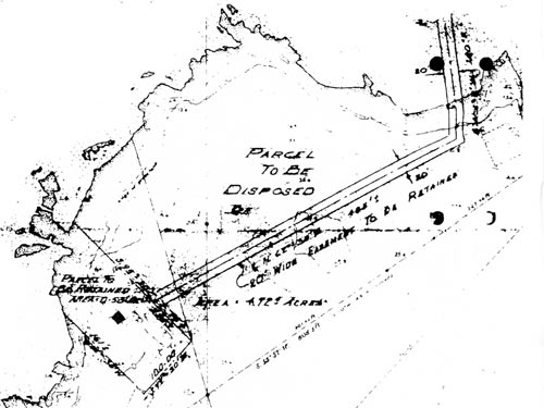 Detail from land survey